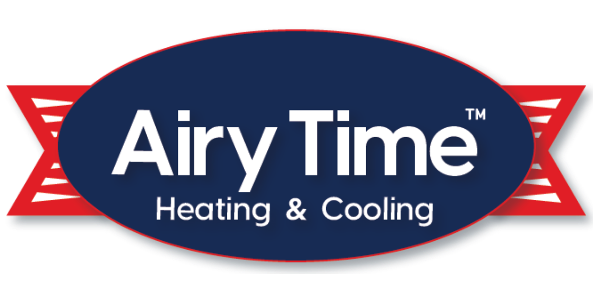 Airy Time Heating And Cooling Logo Large Transparent Background